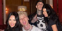 Kourtney and Travis Celebrate Machine Gun Kelly's Birthday with Megan Fox