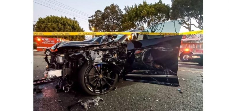 LA teen Lamborghini driver pleads guilty to vehicular manslaughter, was driving 106 mph at time of fatal crash