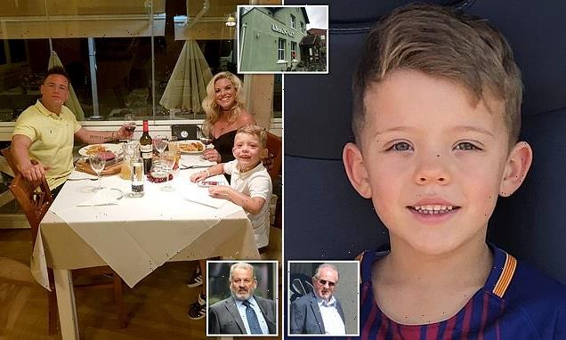 Landlord and electrician are sentenced over death of boy, 7, at pub