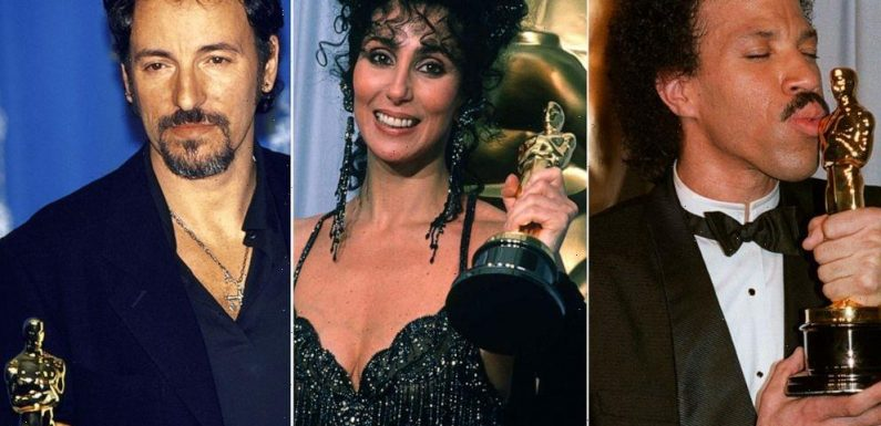 Lionel Richie, Cher, Bruce Springsteen and more: Celebrities you didn't know won an Academy Award