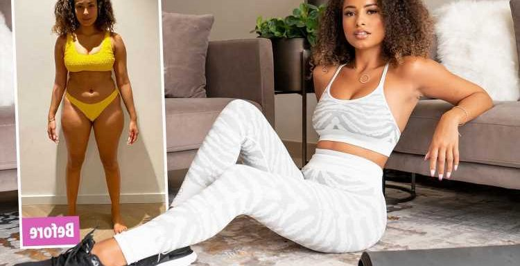 Love Island's Amber Gill says she got her dream body in just six weeks – and now YOU can too