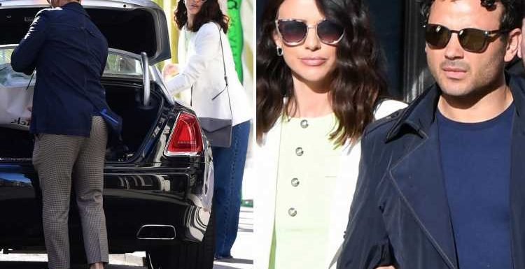 Lucy Mecklenburgh and Ryan Thomas go on spending spree on Bond Street in his £286k Rolls Royce