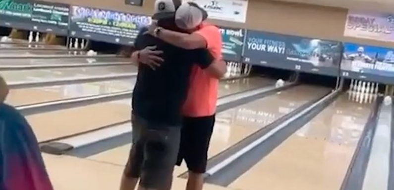 Man fills bowling ball with dad's ashes and rolls perfect game