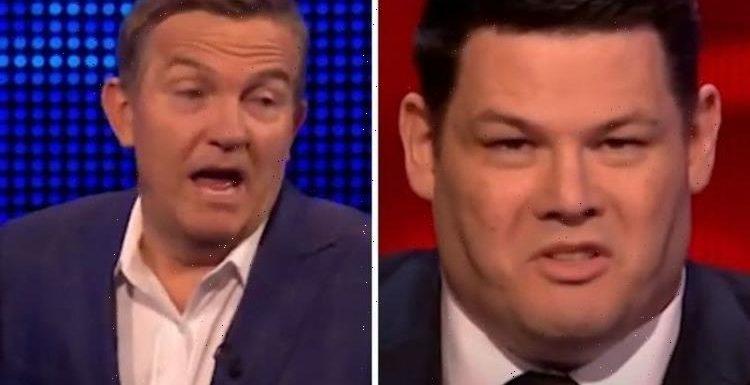 Mark Labbett branded 'ignorant' by Bradley Walsh in tense The Chase moment 'Settle down!'