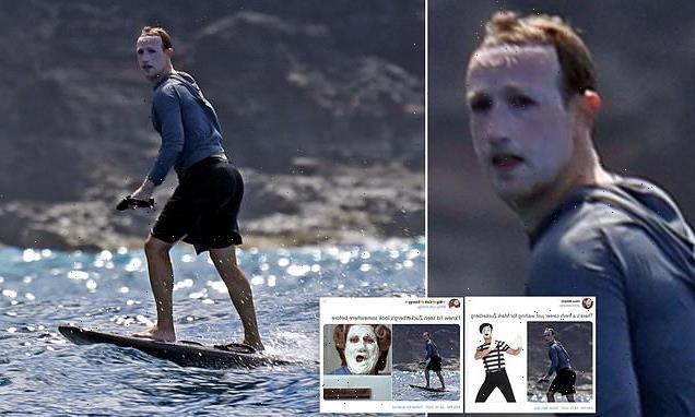Mark Zuckerberg says sunscreen photos were attempt to disguise himself