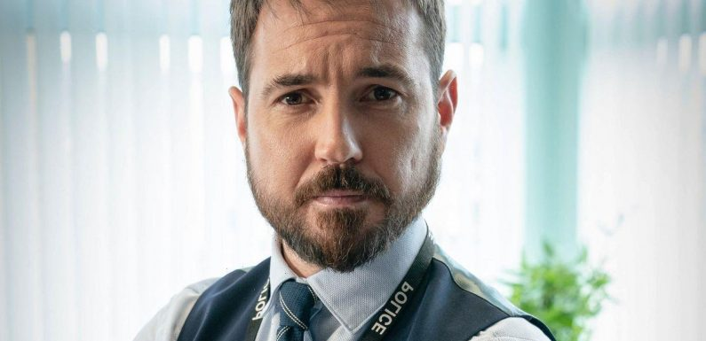 Martin Compston hides his strong Scottish accent by listening to English recordings of Line of Duty script