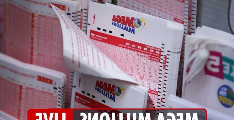 Mega Millions results LIVE: Winning numbers for Tuesday, April 27 – $297million jackpot