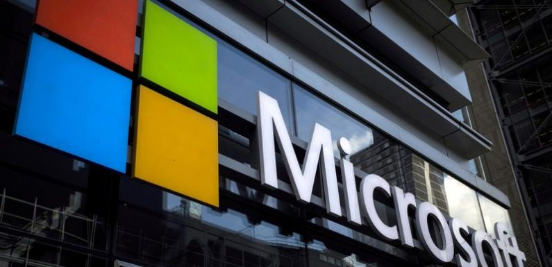 Microsoft sales grow on cloud strength but shares fall on heightened expectations
