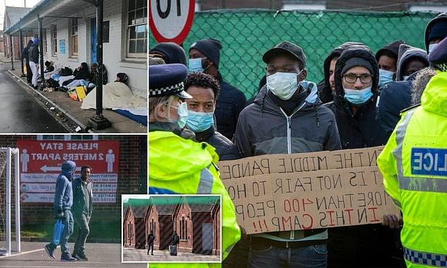 Migrants at Kent barracks face 'exceptionally high risk to life'