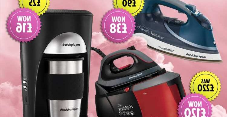 Morphy Richards announces sale with up to 58% off – here's what we're snapping up
