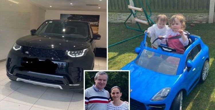Mum-of-22 Sue Radford shows off kids' £200 mini Porsche, weeks after husband Noel gifted her a £30k Range Rover
