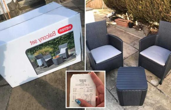 Mum's secret hack to score cut-price garden furniture in Tesco as she nabs £95 set for just £23