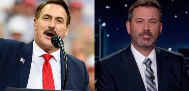My Pillow's Mike Lindell Will Appear in Person on 'Jimmy Kimmel Live' Next Week (Video)