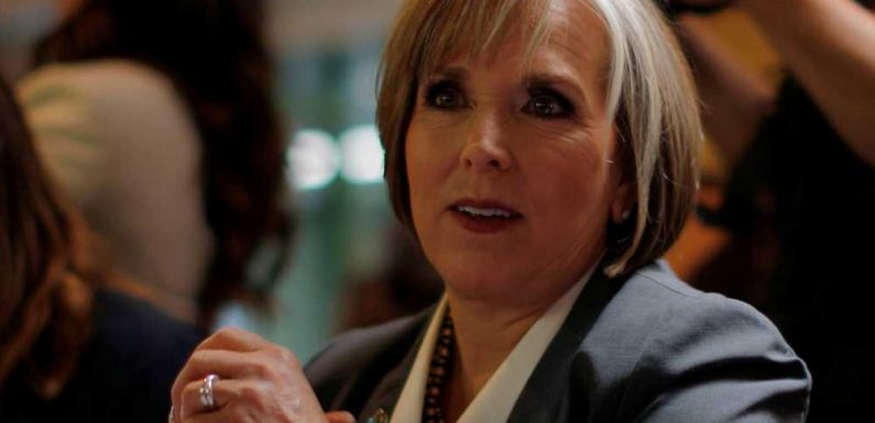 New Mexico governor shells out $62,500 for alleged crotch grab