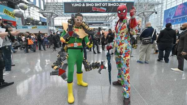 New York Comic Con 2021 Set for October as In-Person Event With 'Very Limited' Attendance