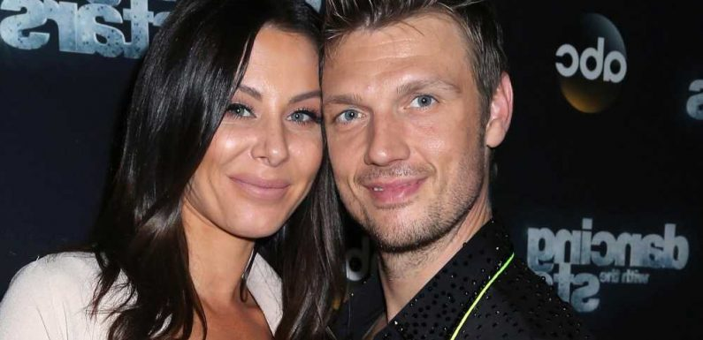 Nick Carter's baby at home 'safe and sound' after 'complications'