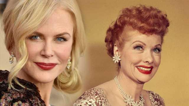 Nicole Kidman Turns Into Lucille Ball on 'Being the Ricardos' Set