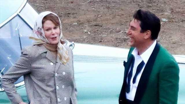 Nicole Kidman & Javier Bardem Nearly Unrecognizable on 'Ricardos' Set