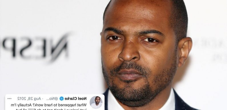 Noel Clarke called women 's**gs' and 'gold diggers' in series of crude resurfaced tweets amid misconduct allegations