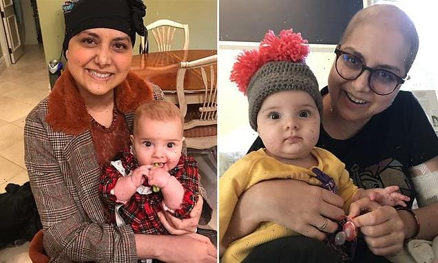 Non-smoker, 35, learns she has LUNG CANCER months after giving birth
