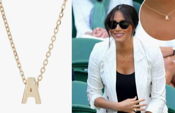 Nordstrom Rack's huge sale has an $11 version of Meghan Markle's initial necklace