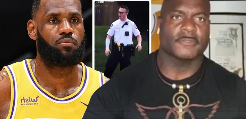 Officer who called out LeBron James's tweet about Ma'Khia Bryant cop says he'd be 'disappointed' if star doesn't respond
