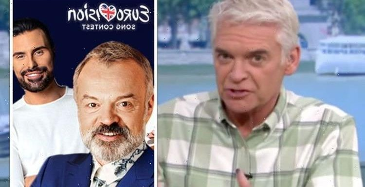 'Opportunity to show they hate us' Phillip Schofield blasts EU over Eurovision tactics