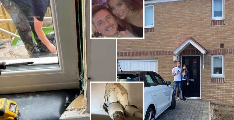 Our £200k new-build home was left with 'golf ball-sized holes' in walls and mould so bad we had to replace the windows