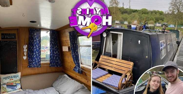 Our first-home is a £23k house boat – but we're saving up for a house