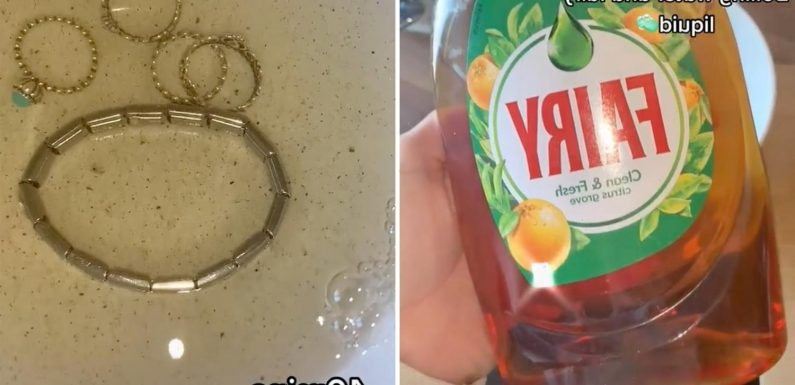 Pandora fan uses easy hack to clean her jewellery is absolutely disgusted by the results