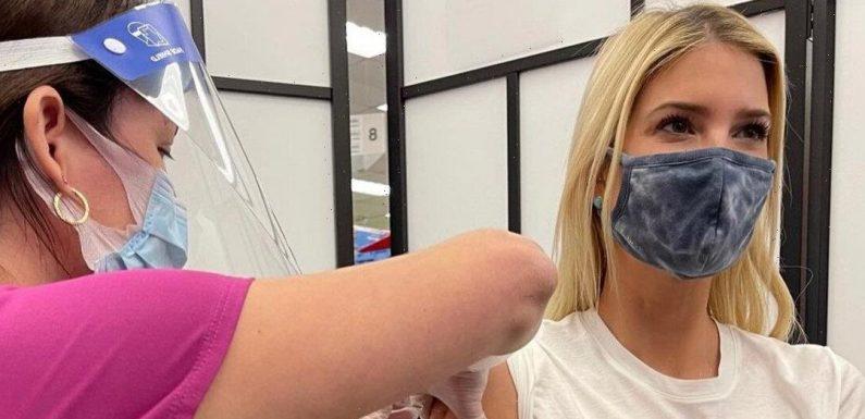 People Are Trolling Ivanka Trump Over Her Vaccine Selfie