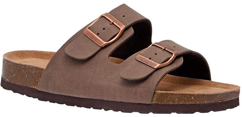 People Say These $25 Slide Sandals Are So Comfortable, They Don't Even Notice They're Wearing Them