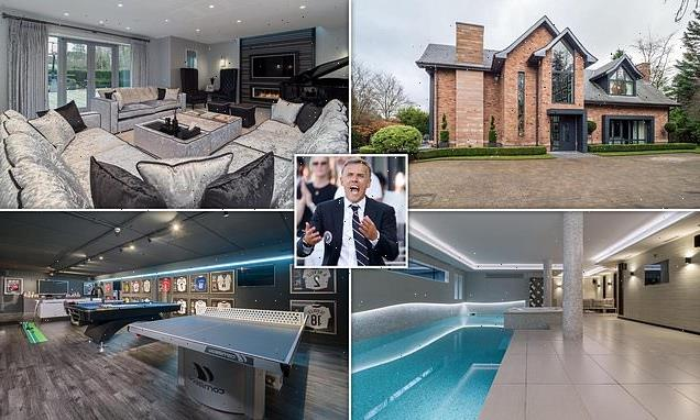 Phil Neville accepts offer on his six-bed £5.25m Cheshire mansion