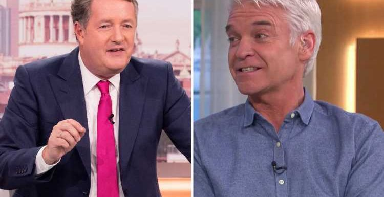 Phillip Schofield aims dig at former ITV co-star Piers Morgan as he mocks him for writing about yoghurt