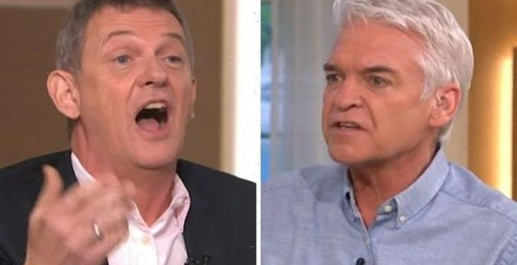 Phillip Schofield snaps at Matthew Wright over Covid scaremongering