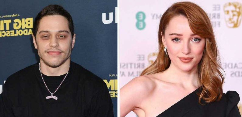 """Phoebe Dynevor and Pete Davidson Appeared to Confirm Dating Rumors with Matching """"PD"""" Necklaces"""