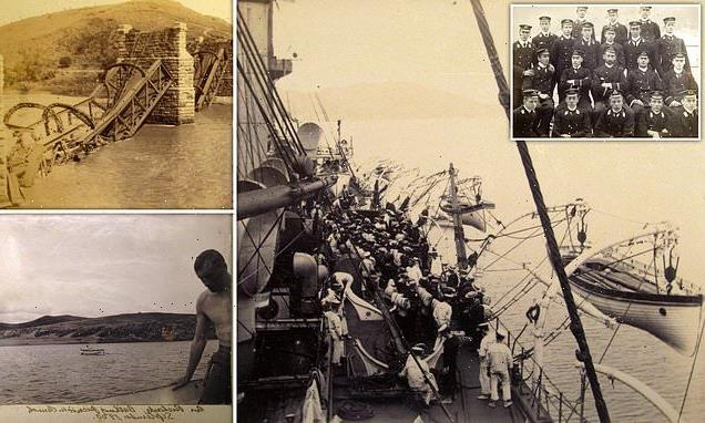 Photos taken by Royal Navy officer show the Second Boer War in 1899
