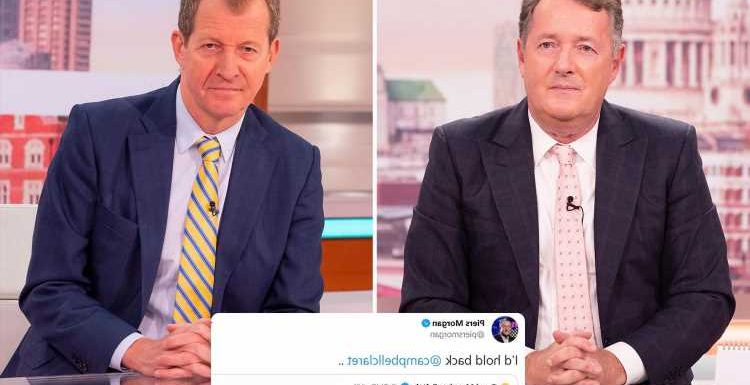 Piers Morgan advises new GMB host to 'hold back' after fiery opinions saw him forced off the ITV show
