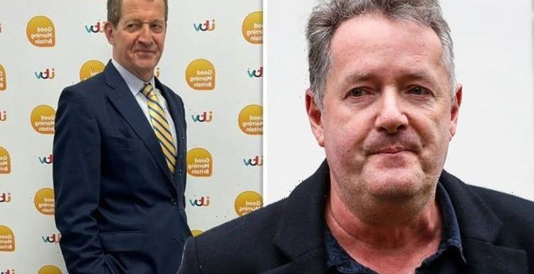 Piers Morgan issues warning to Alastair Campbell over starting 'fiery debates' in GMB role