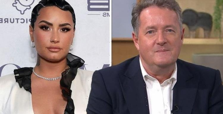 Piers Morgan rages at 'arrogant' Demi Lovato for 'trying to ruin small family business'