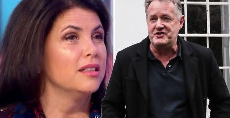 Piers Morgan reacts to Kirstie Allsopp's plea to get him back on GMB despite their rows