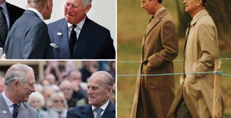 Prince Charles reveals he 'enormously' misses his 'dear papa' & reveals Philip would be 'amazed' by outpouring of grief