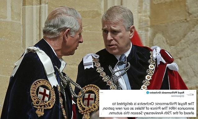 Prince Charles takes over brother Andrew's former patronage