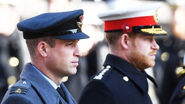 Prince Harry & Prince William Won't Walk Side-By-Side At Prince Philip's Funeral
