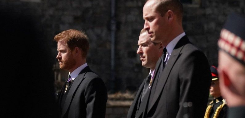 Prince Harry Publicly Reunites With Prince Charles and Prince William