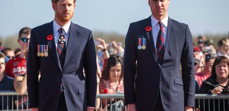 Prince Harry and William WILL be reunited before Philip's funeral as they meet face-to-face for first time 'in a year'