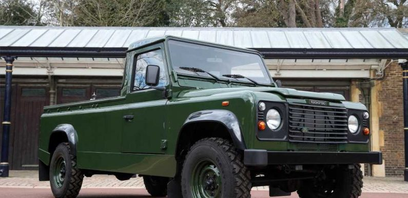 Prince Philip designed the Land Rover hearse that will carry his coffin