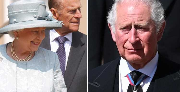 Prince Philip summoned Charles to hospital to 'brief him on what he had to do' as he 'made all big decisions' for Royals