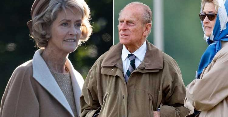 Prince Philip's long-term carriage-driving companion Penelope 'Penny' Knatchbull among 30 guests invited to funeral