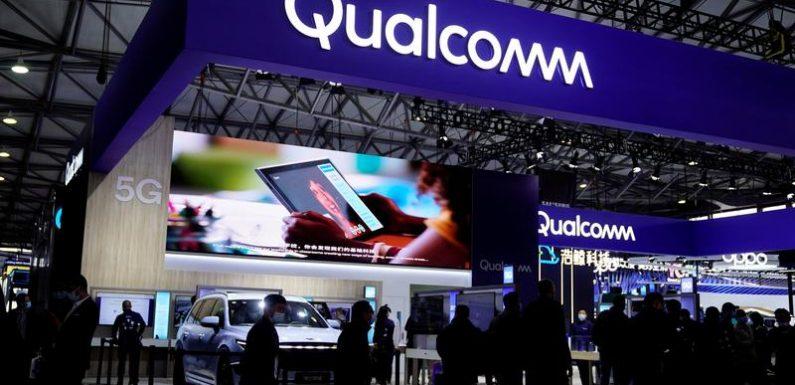 Qualcomm sees revenue, profits above estimates as supply chain improves